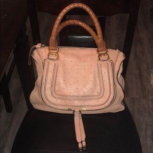 Chloe Marcie Salmon Stud Handbag